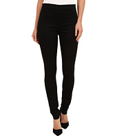 Hudson - Evelyn High Rise Super Skinny Sateen in Black Knight