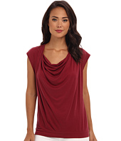 BCBGMAXAZRIA - Kadie Sleeveless Cowl Neck Top