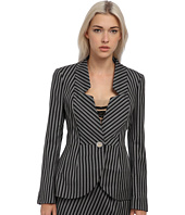 Vivienne Westwood - Striped No Collar Blazer