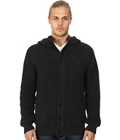 Nixon - Montana Button Front Hoodie Sweater