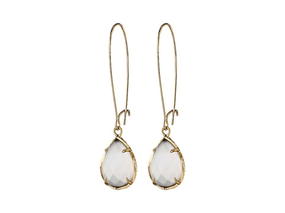 Kendra Scott Dee Earring Gold Slate Earring