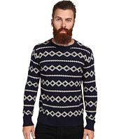 Gant Rugger - R. Diamond Jacquard Sweater