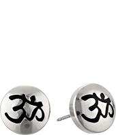 Alex and Ani - Om Sacred Studs Post Earrings