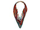 Gypsy SOULE Tribal Beaded V Collar Necklace (Multi)