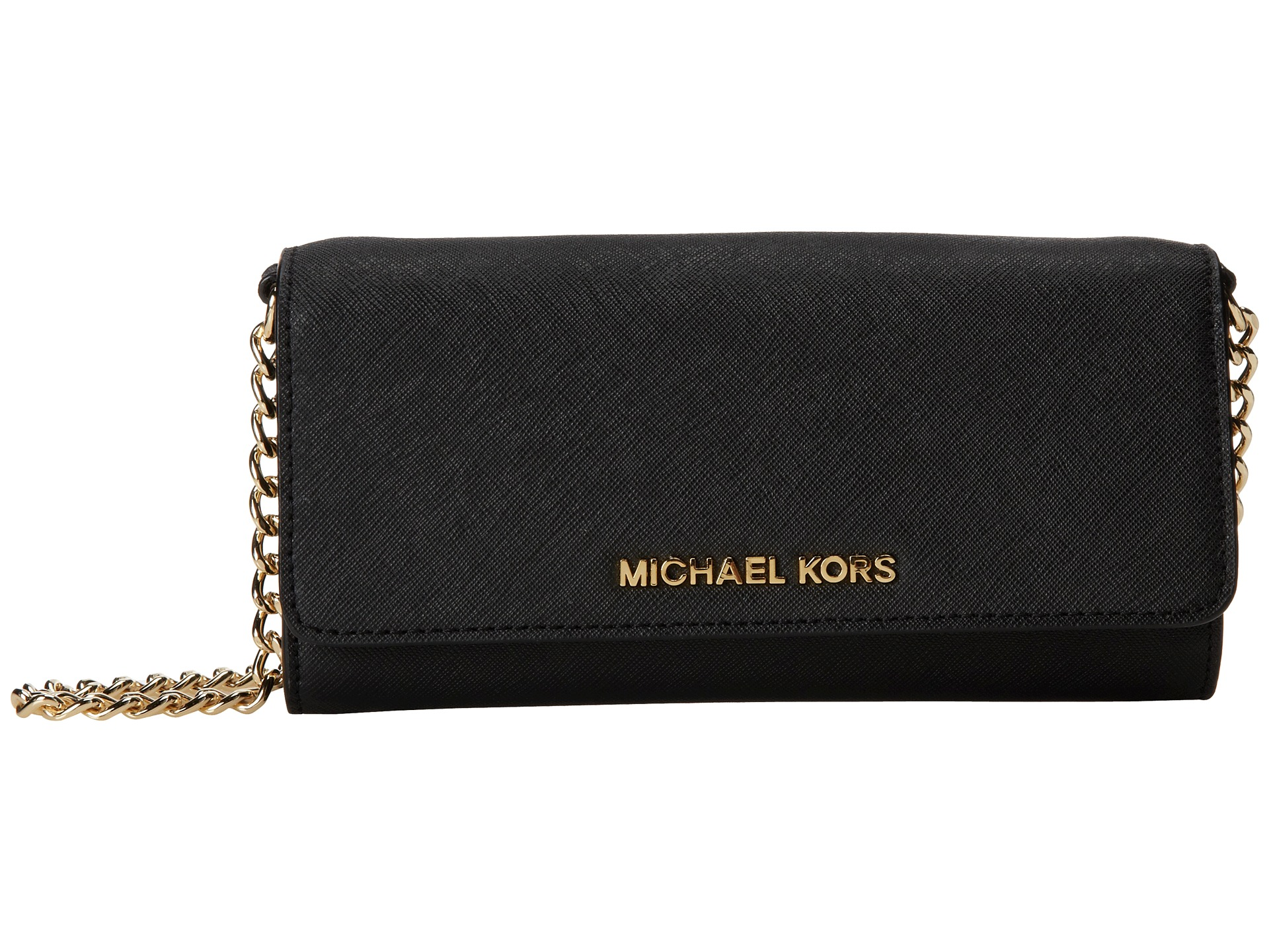 Germany Michael Kors Wallets - Michael Michael Kors Jet Set Travel Wallet On A Chain