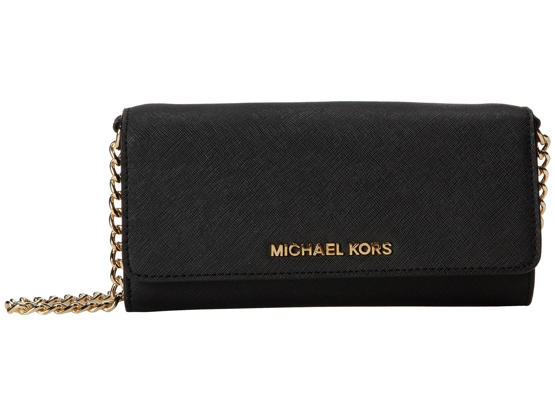 Germany Michael Kors Wallets - Michael Michael Kors Jet Set Travel Wallet On A Chain