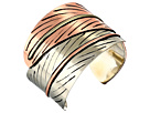 Gypsy SOULE - Double Feather Interchange Cuff (Copper/Silver)