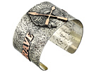 Gypsy SOULE - Be Brave Be Fierce Cuff (Silver/Copper)