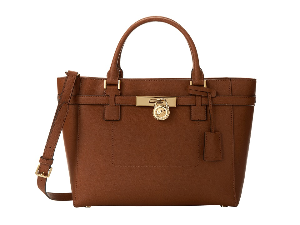 MICHAEL Michael Kors Hamilton Large Tz Tote (Luggage) Tote Handbags