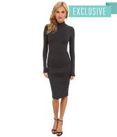 Michael Stars - Exclusive L/S Turleneck Dress w/ Shirring