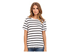 Michael Stars Downtown Stripe S/S Crew Neck