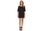 Michael Stars Tencel Elbow Sleeve Shift Dress
