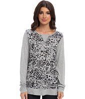 Michael Stars - Cheetah Print L/S Sweatshirt