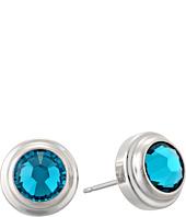 Alex and Ani - Blue Zircon Harmony Sacred Studs Post Earrings