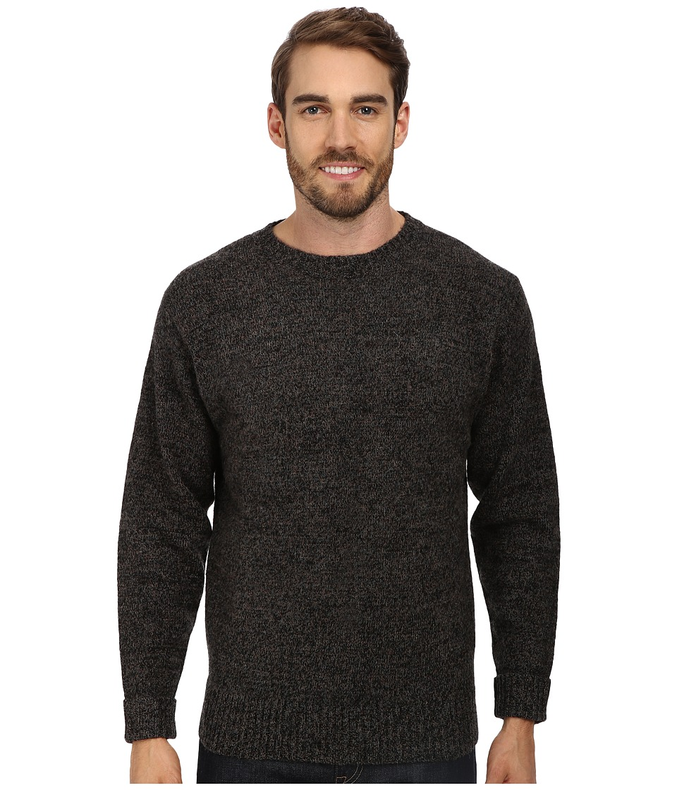 Pendleton Shetland Crew Sweater (Charcoal Mix) Men
