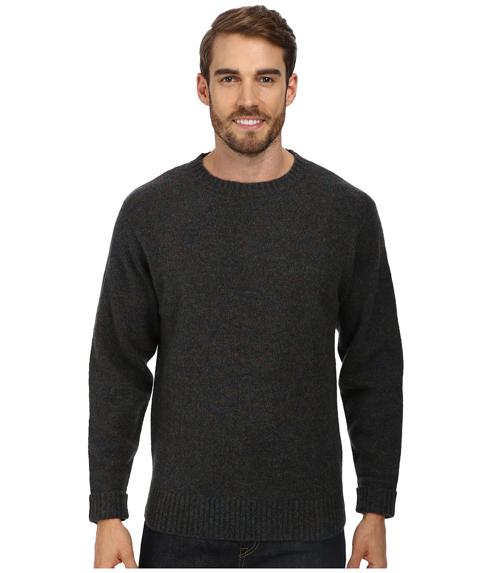 Pendleton - Shetland Crew Sweater (Blue/Green Mix) Men