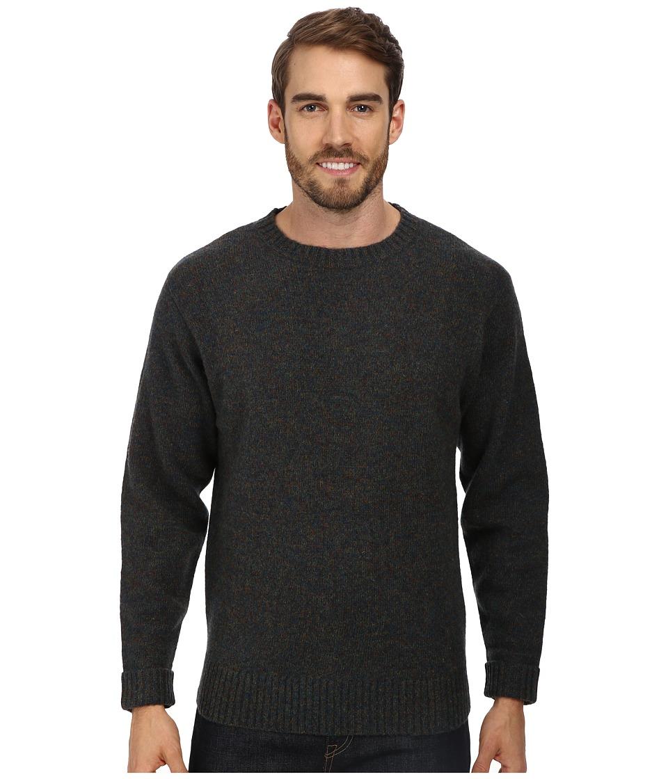 Pendleton - Shetland Crew Sweater (Blue/Green Mix) Men