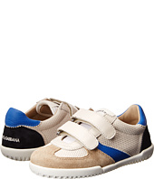 Dolce & Gabbana - Low Top Velcro Sneaker (Little Kid)
