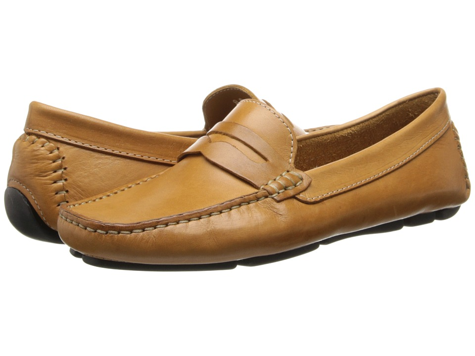 Massimo Matteo Penny Keeper (Tan Bison) Women's Moccasins