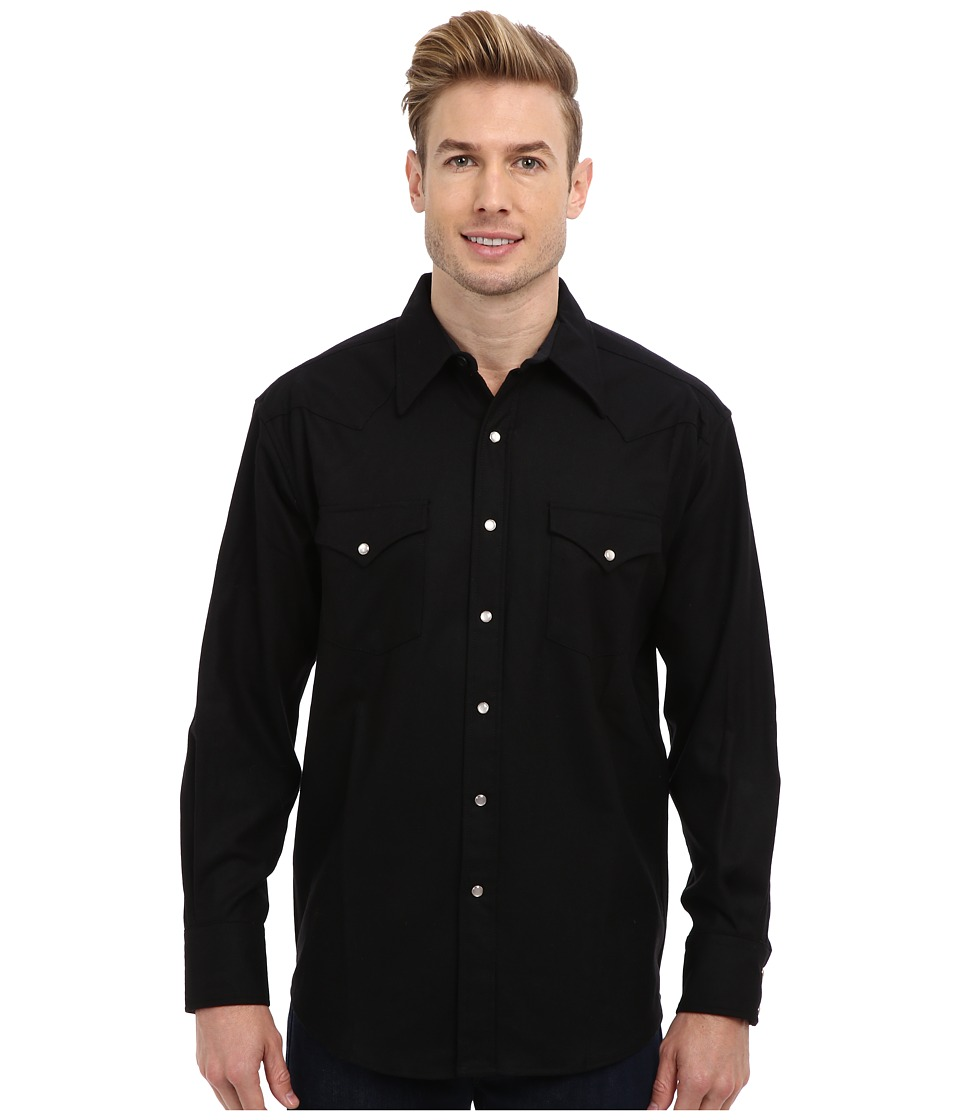 Pendleton - L/S Canyon Shirt (Black) Mens Long Sleeve Button Up