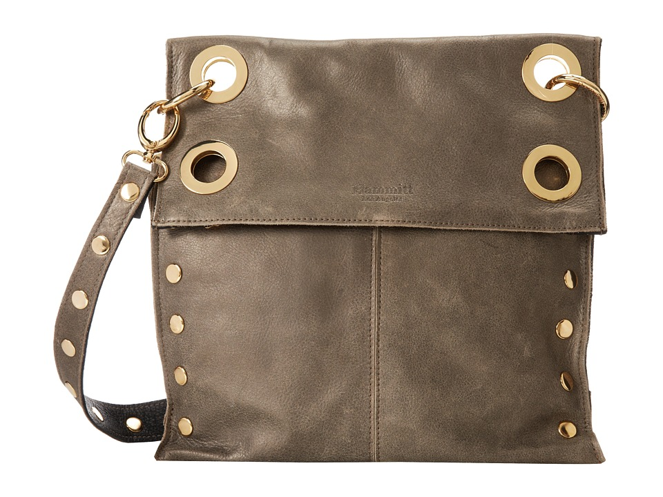 Hammitt - Montana Rev (Black/Pew/Gold) Cross Body Handbags