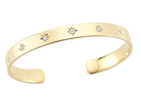 Elizabeth and James Bassa Cuff Bracelet - Yellow Gold