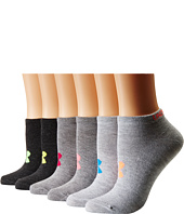 Under Armour - UA Solid 6-Pack No Show