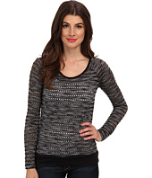 KUT from the Kloth - Liane Crew Neck 3/4 Sleeve Top