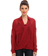 KUT from the Kloth - L/S Wrap Top