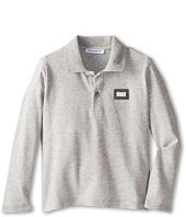 Dolce & Gabbana - Long Sleeve Pique Polo (Infant)