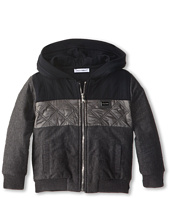 Dolce & Gabbana - Colorblock Quilted Zip-Up Hooded Sweatshirt (Infant)