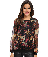KUT from the Kloth - Romantic Sheer Floral Top