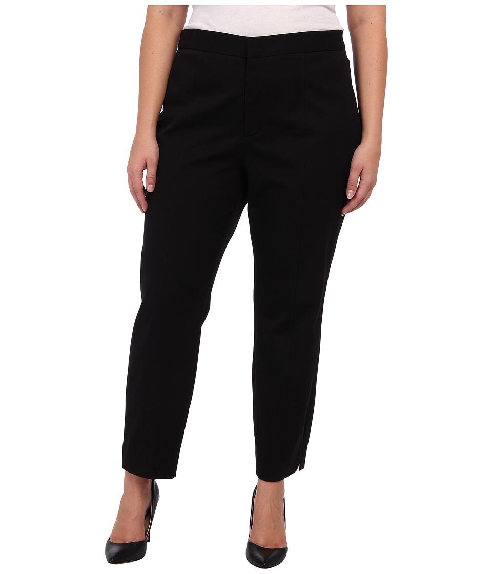 NYDJ Plus Size Plus Size Ankle Pant Bi Stretch Black Womens Jeans