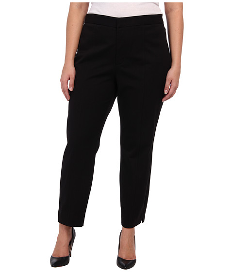 NYDJ Plus Size - Plus Size Ankle Pant Bi-Stretch (Black) - Apparel