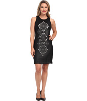 Karen Kane - Sleeveless Laser Cut Dress