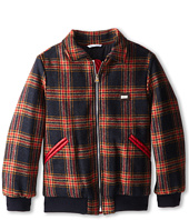 Dolce & Gabbana - Tartan Zip-Up Collared Jacket (Big Kids)