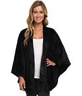 N by Natori - Solid Cashmere Fleece Poncho