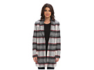 Joe's Jeans Alister Long Plaid Coat