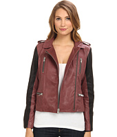 Graham and Spencer - LEJ4139 2 Tone Leather Jacket