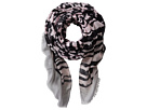 BSS1402 Oversized Houndstooth Pattern Fabric Scarf