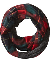San Diego Hat Company - BSS1419 Tartan Infinity Plaid Scarf with Blend Panel