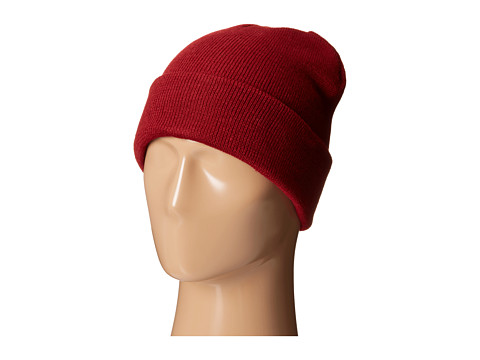 San Diego Hat Company KNH3326 Slouchy Knit Beanie with Cuff - Red
