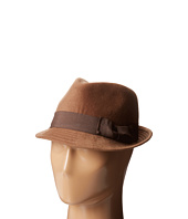 San Diego Hat Company - CTH3718 Faux Wool Felt Fedora with Grosgrain Bow & Band