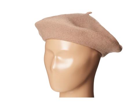 San Diego Hat Company WFB2006 Wool Felt Beret - Camel