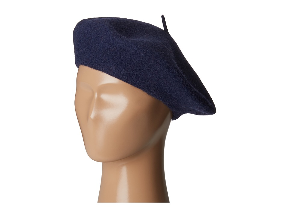 1920s Style Hats San Diego Hat Company - WFB2006 Wool Felt Beret Navy Berets $26.91 AT vintagedancer.com