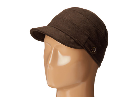 San Diego Hat Company CTH3712 Cadet with Side Tabs & Brass Buttons