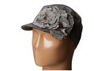 San Diego Hat Company CTH3710 Wool Blend Tweed Cadet with Herringbone Flower