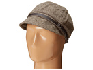 San Diego Hat Company CTH3706 Wool Blend Tweed Cabbie with PU band buckle