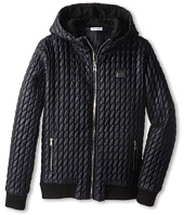 Dolce & Gabbana - Quilted Hooded Zip Up Jacket (Big Kids)