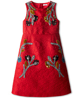 Dolce & Gabbana Kids - Embroidered A-Line Dress (Big Kids)